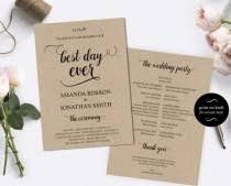cheap wedding programs wedding ideas kraft weddbook