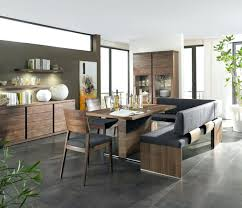 dining room rustic modern kitchen bench seating matching kitchen
