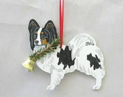 papillon ornament etsy