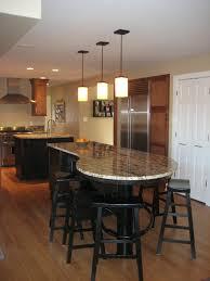 long kitchen island ebony wood orange zest shaker door long kitchen island with modern