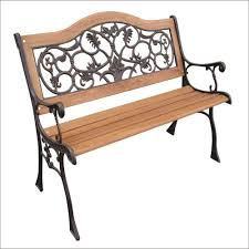 belham living richmond curved back ft outdoor wood bench image on