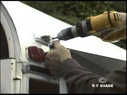 Enclosed Trailer Awning For Sale Horse Trailer Awning Installation Youtube