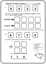 key stage 2 year 3 maths worksheets mathsphere free sample maths