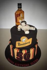 bundaberg rum 50th birthday cake cakes pinterest bundaberg