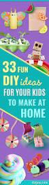 33 fun diy ideas for your kids to make at home winter fun fun