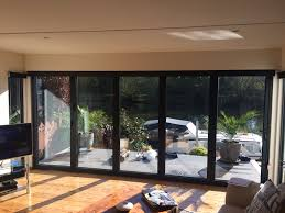 Battery Operated Window Blinds Bifold Doors Blinds By Deans Blinds U0026 Awnings Battery Operated