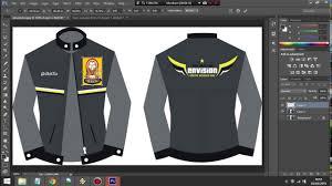 tutorial dasar photoshop buat desain jacket youtube