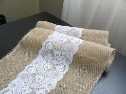 Navy Blue Lace Table Runner Navy Blue Linen Table Runner Burlap Table Runner Navy Dark Blue
