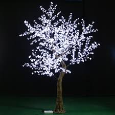 indoor white 5 mini led cherry blossom tree light for wedding