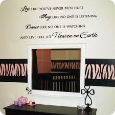 Wall Quotes For Living Room by Living Room Wall Decals Wall Quotes And Sayings