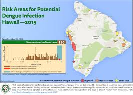 map of hawaii island dengue fever cases jump to 190 hawaii risk map released