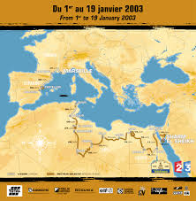 France Spain Map by Space In Images 2003 01 2003 Dakar Rally Visits France