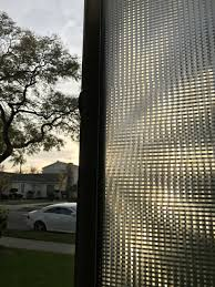 frosted privacy window film treatment translucent static cling
