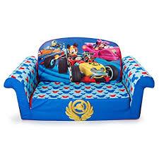 mickey mouse clubhouse flip open sofa with slumber amazon com marshmallow furniture children s 2 in 1 flip open foam