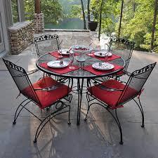 Iron Patio Table Set Outdoor Green Wrought Iron Patio Furniture White Wrought Iron