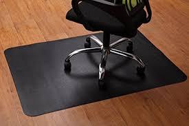 plastic floor cover for desk chair amazon com office chair mat for hardwood and tile floor anti slip