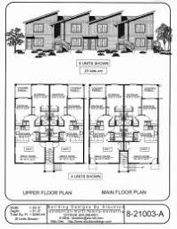 8 unit apartment building plans multi family home and building plans