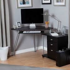 Small Corner Computer Desks For Home Amazing Small Corner Computer Desk Simple And Intended For