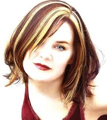 chunking highlights dark hair pictures short bob hairstyles chunky highlights hairstyles