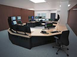 Control Room Desk Military Control Room Consoles From Winsted Custom Division