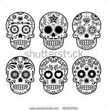 vector sugar skull free vector free vectors