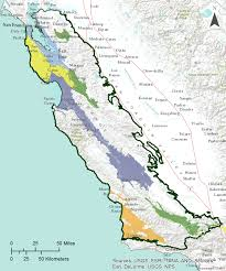 Map Southern California Gama Groundwater Ambient Monitoring And Assessment