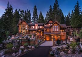 nevada home design exquisitely designed rustic lakeside home in the nevada mountains