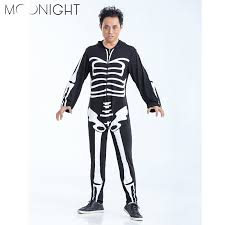 Skeleton Halloween Costumes Adults Cheap Scary Halloween Costumes Men Aliexpress