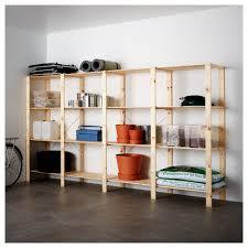 Garage Storage Ikea by Hejne 4 Section Shelving Unit Ikea