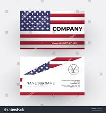 Country Code Flags Vector Abstract American Flag Professional Business Stock Vector