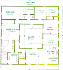 courtyard house plans 200 sq ft house plans octagon luxihome