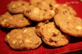 maple walnut white chocolate chip cookies cheery kitchen