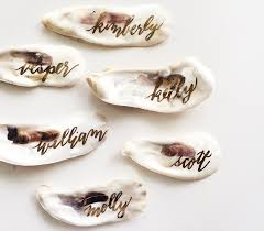 wedding place cards eco friendly wedding ideas non paper table place cards inside