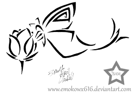 tribal butterfly tattoo by brandiapril09 on deviantart