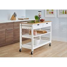 kitchen islands with drawers 48 bamboo kitchen island w drawers white store
