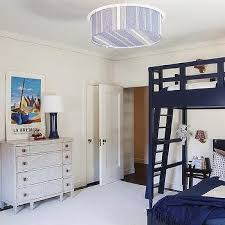 Navy Bunk Bed Rails Design Ideas - Navy blue bunk beds
