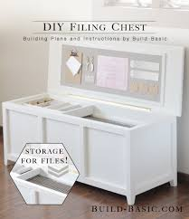 Instructions To Build A Toy Chest by Build A Diy Filing Chest U2039 Build Basic