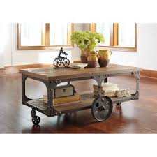 Caster Coffee Table Caster Coffee Tables Hayneedle