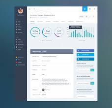 dashboard web app product ui design job summary summary app ui