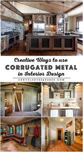 design gartenh user creative ways to use corrugated metal in interior design