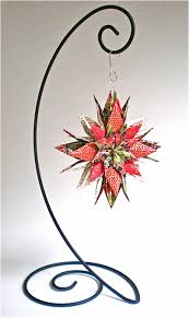 ornament stand floral paper with ornament stand magyan clay and paper