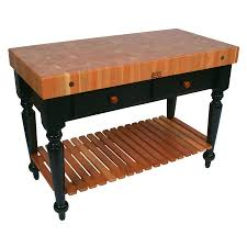 rustica cherry butcher block table liberty interior how to image of custom butcher block table
