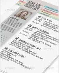 Creative Resume Template Download Free Creative Resume Template Design Vectors 05 Vector Resume Template
