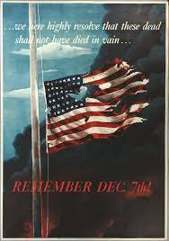 Meaning Of American Flag World War Ii Commemorating Pearl Harbor 1941 Gilder Lehrman