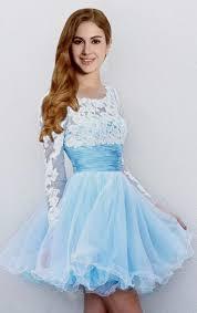 light blue dress light blue dresses with sleeves naf dresses