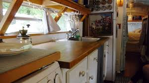 couple u0027s tiny house bus conversion