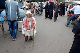 Seeking In Hyderabad Indian Handicapped Seeking Help Editorial Stock Photo Image