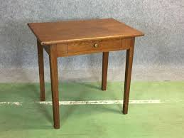 Oak Side Table Antique Oak Side Table For Sale At Pamono