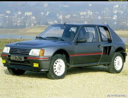 peugeot made in my first car the peugeot 205 gti did a lot of stupid things in