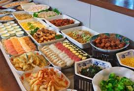 Eat All You Can Buffet by Depart From Kyoto All You Can Eat Buffet Lunch 30 Kinds Of Dishes